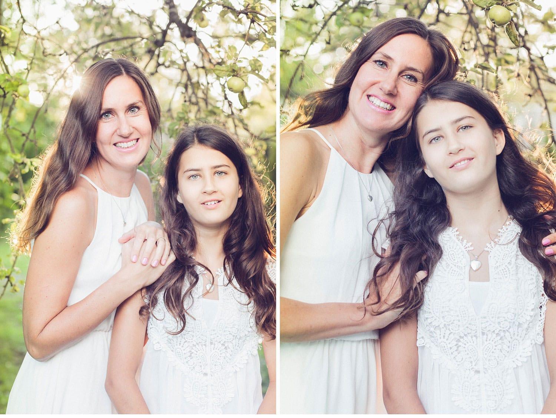 40thbirthday motherdaughter portrait  12 - Birthday girl portrait, family-session